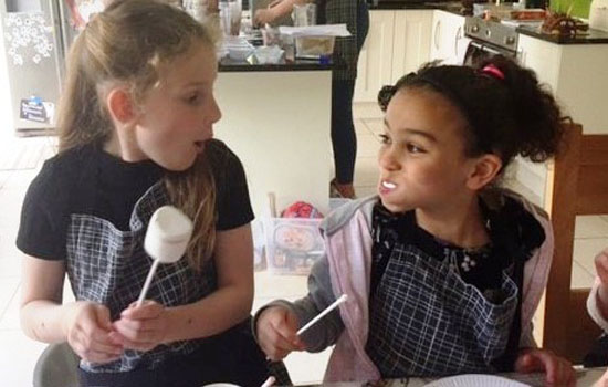 Chocolate workshops – bringing out the best in kids!