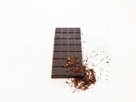 Mexican dark chipotle chocolate bar