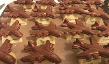 Custom moulded chocolates